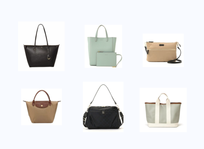 お手頃バッグ人気の高い6ブランド/しっかりおしゃれも楽しめるバッグ多数!