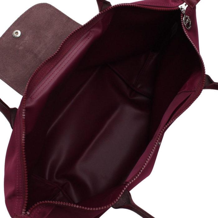 エレガントなサテンナイロンが魅力のル プリアージュ ネオ トートバッグ