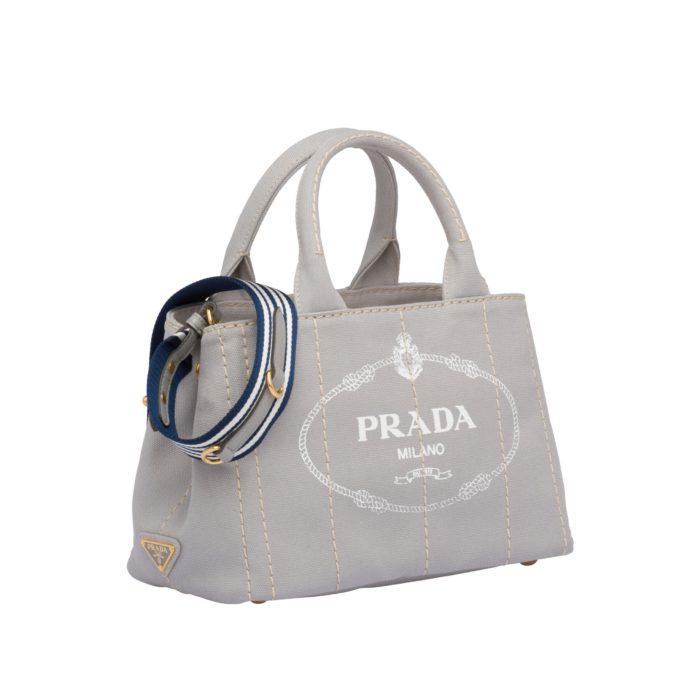 カジュアルなブランドバッグ プラダカナパ