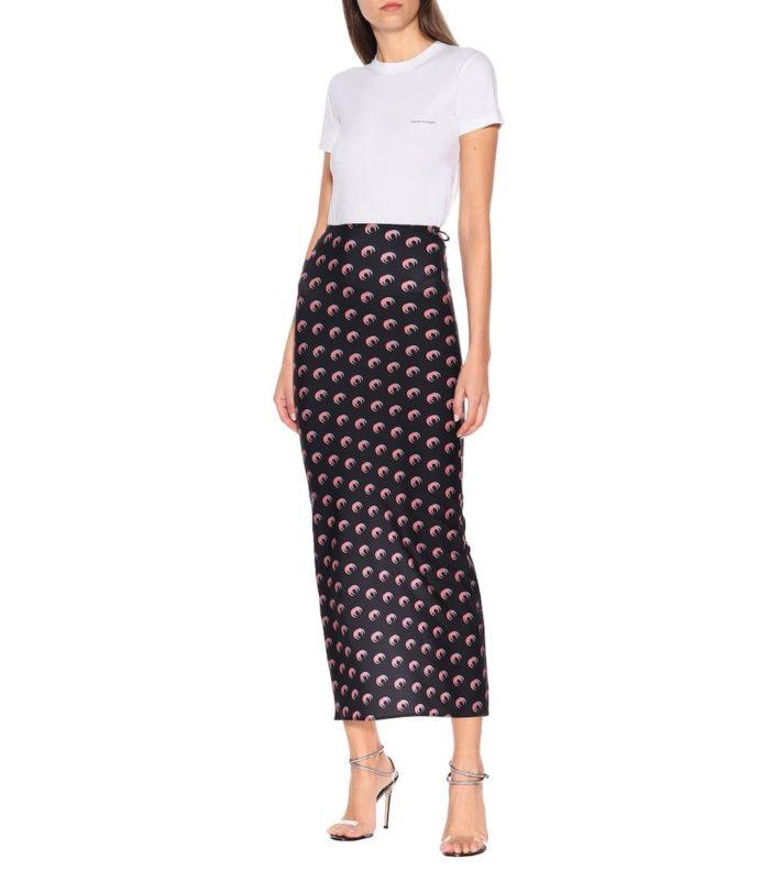 ムーンプリント スカート