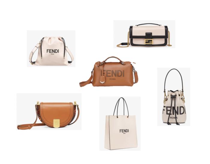 フェンディ新作バッグより印象的な6アイテム/ロゴが際立つバッグやピンクレザーバッグなど