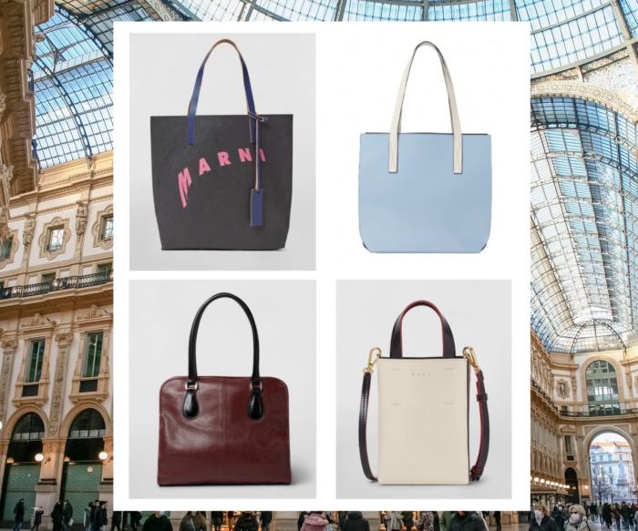 マルニ新作バッグよりユニークなデザインを楽しめる5選/変形ロゴや洗練された配色など