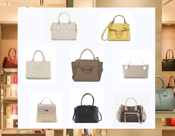 おしゃれハンドバッグ13選!ユニークな留め具や際立つロゴ、フラワーパターンなど
