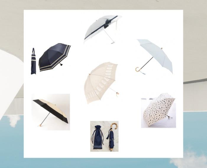 折りたたみ日傘/人気の10アイテム!お手頃価格を中心にワンランク上の日傘まで